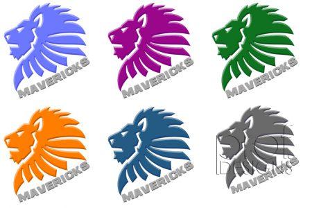 "Komandas ""Mavericks"" logo"