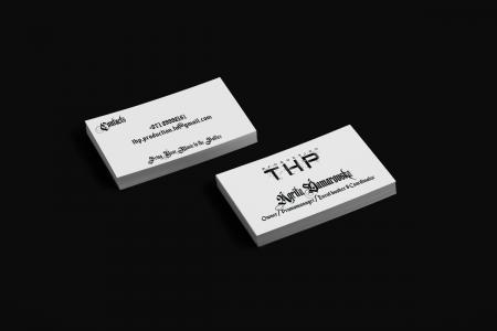 THP Production vizītkartes