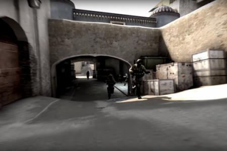Counter-Strike video montāža