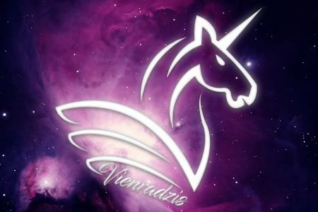Vienradzis Logo