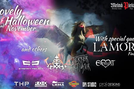 """Poster design """"Lovely Halloween"""""""