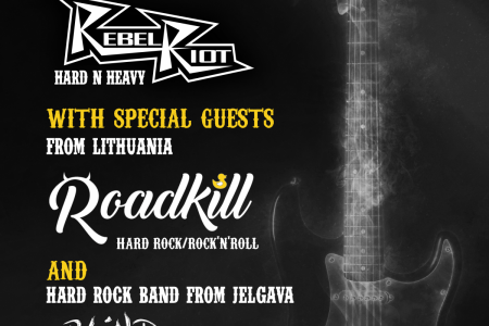 Hard Rock / Rock'n'roll party poster