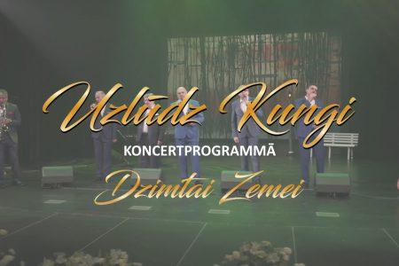 """Video reklāma – Uzlūdz Kungi koncertprogramma """"Dzimtai Zemei"""""""