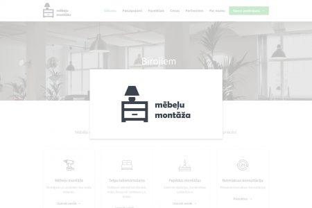 """Mājaslapas """"Mooblikokkupanek.ee"""" stila uzlabojumi"""