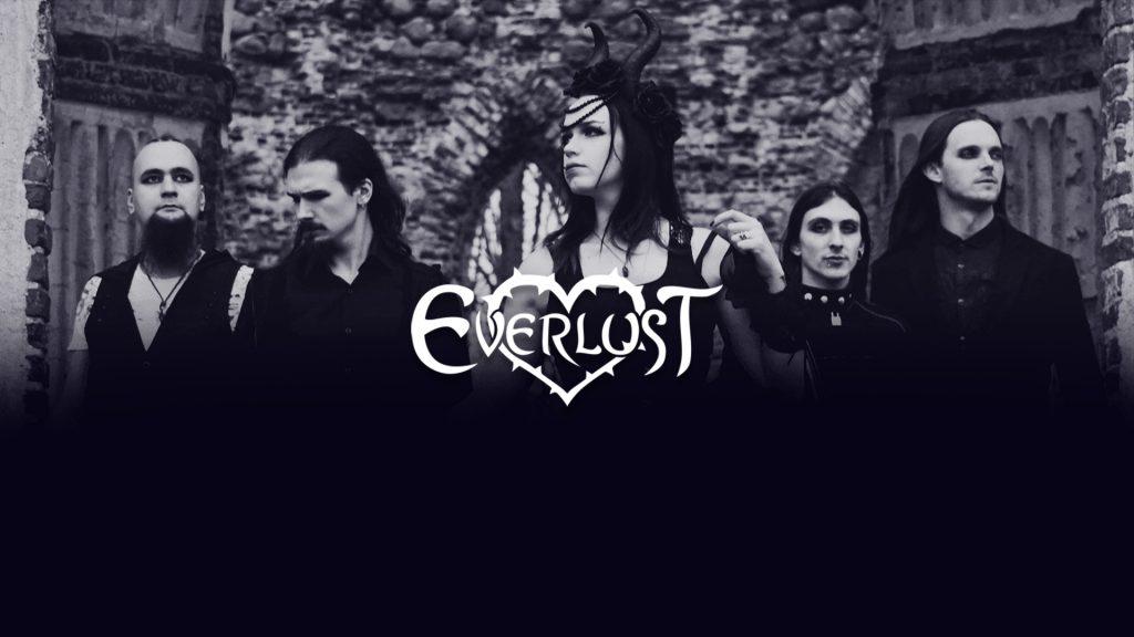 Everlust mājaslapas izstrāde – gotiskā roka metāla grupai